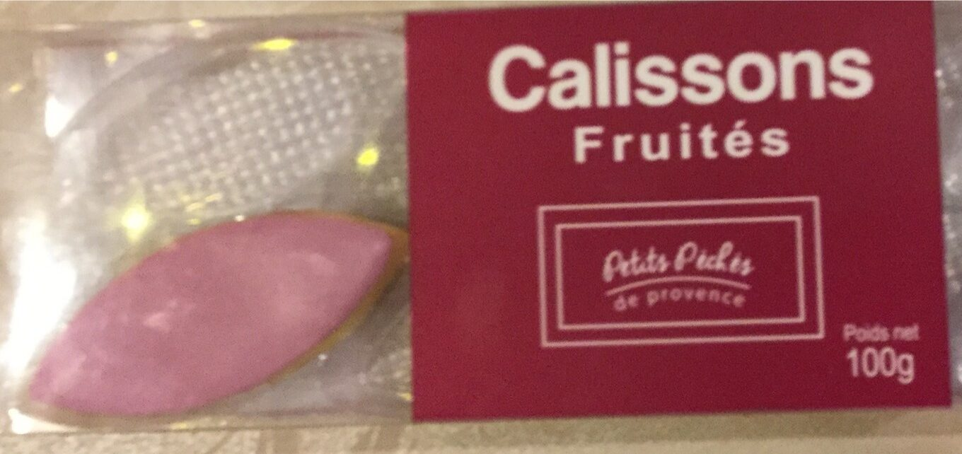 Calissons fruités - Product