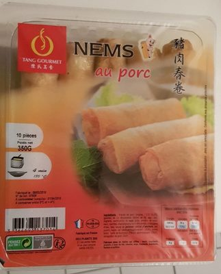 Nems au porc - 10 pièces - Product - fr