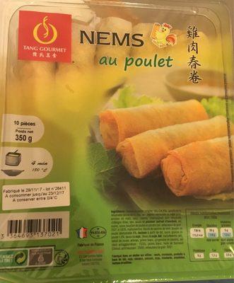 Nems au Poulet - Produit