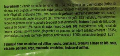 Nems au poulet - Ingrediënten