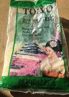 Riz pour sushi - Voedigswaarden