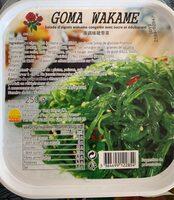 Salade d'algues wakame congelé avec sucre et édulcorants m - Produit