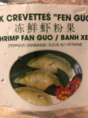 Ravioli aux Crevettes Fan Guo - Product - fr