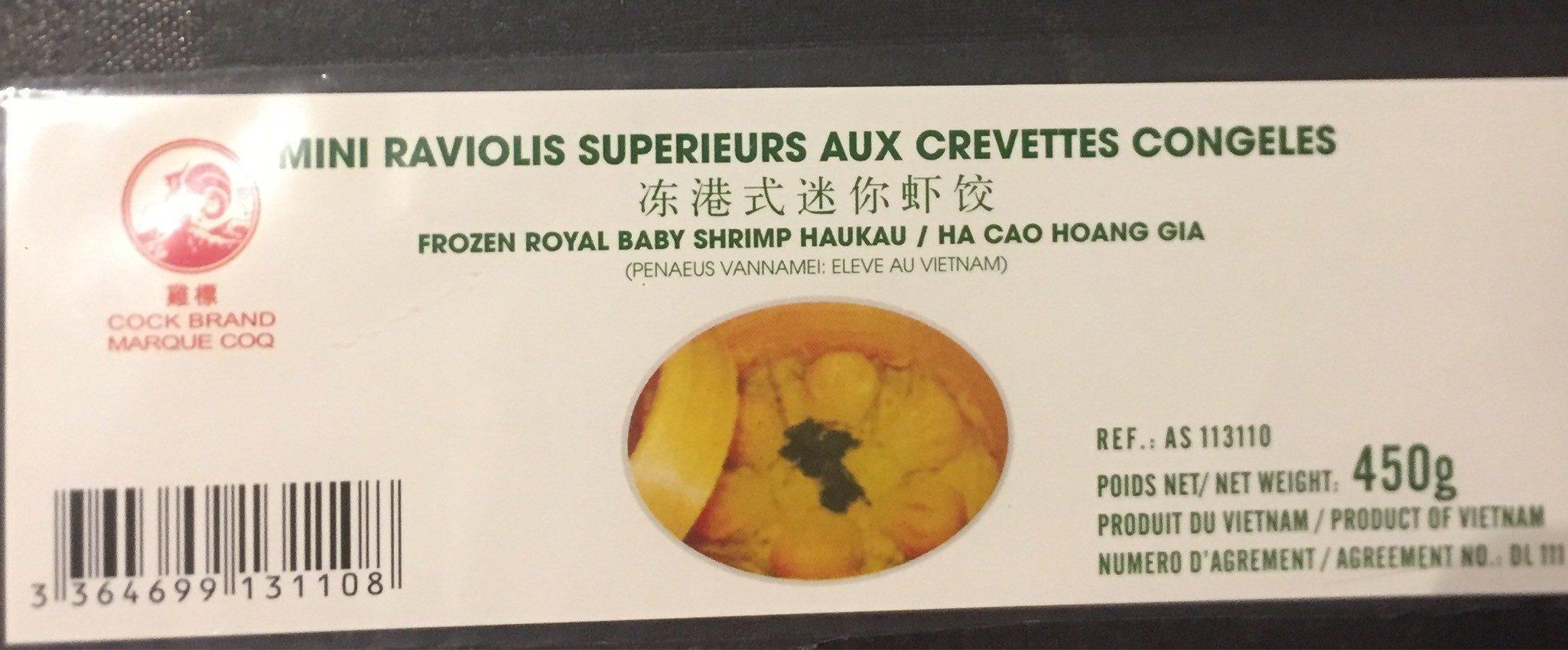 Mini raviolis superieur aux crevettes - Product - fr