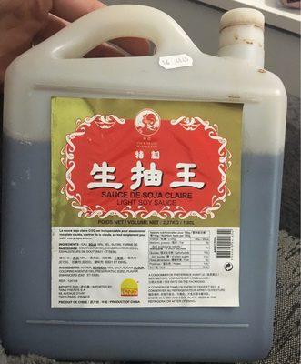 Sauce de soja claire - Product - fr