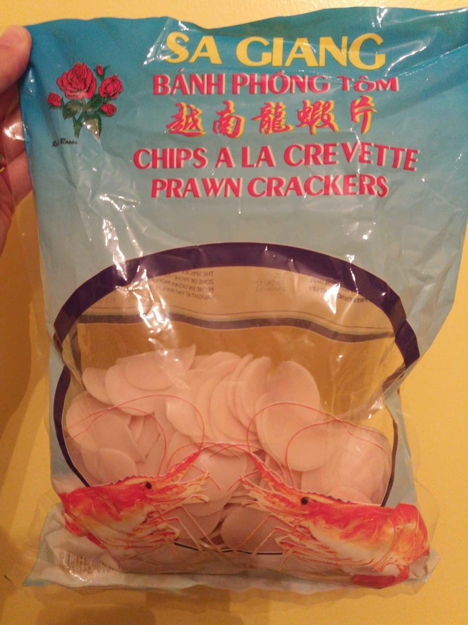Chips à Cuire Goã»t Crevettes 1 KG - Product - fr