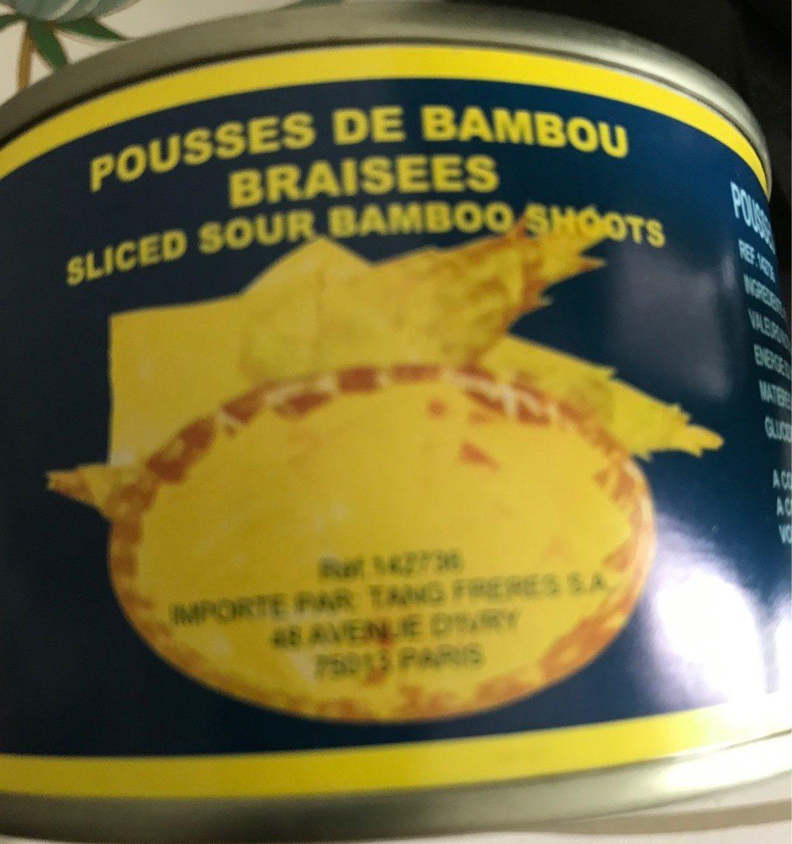 Pousses de bambou braisees - Product