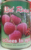 Lychees au sirop - Producto