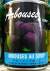 Arbouses au sirop - Product