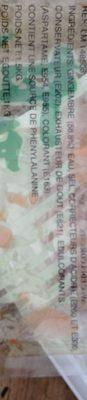 Gingembre Pour Sushis 1KG - Ingrédients