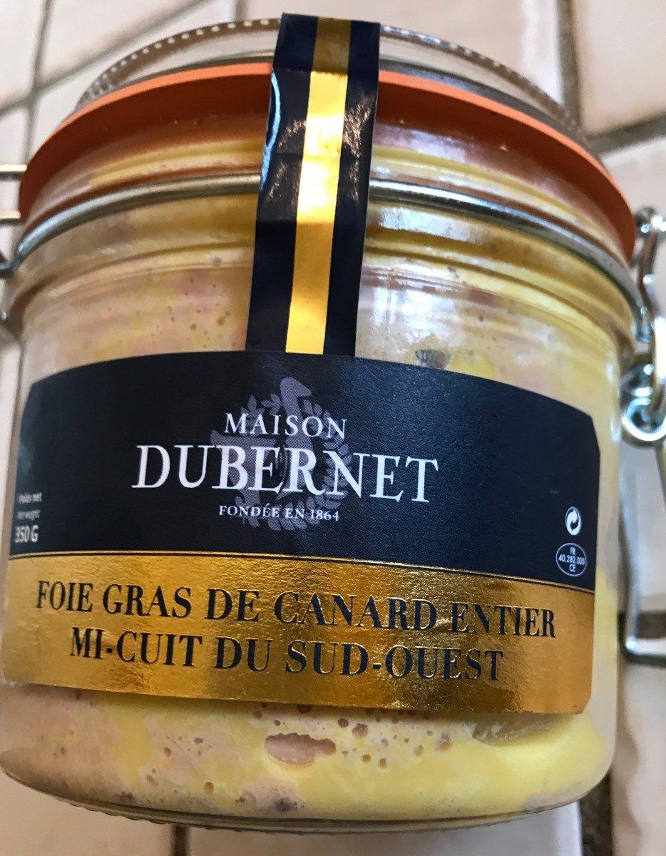 Foie gras de canard entier mi-cuit du Sud-Ouest - Product - fr