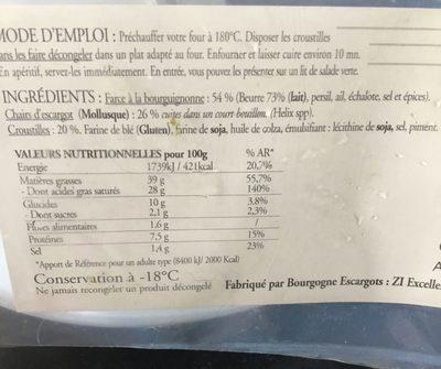 Croustilles - Ingrédients - fr