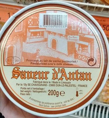 Saveur d'Antan (20% MG) - Produit - fr