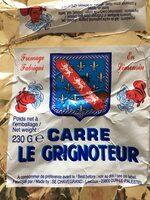 Fromage au lait pasteurise Carre LE GRIGNOTEUR, 50%MG - Produit - fr