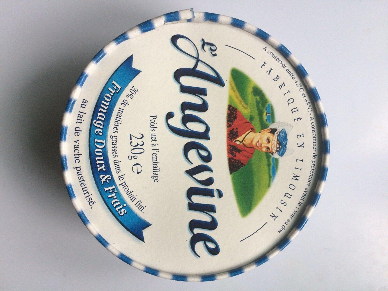 L`angevine - Informations nutritionnelles - fr