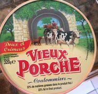 Coulommiers Vieux Porche 52% mat.gr - Produit - fr