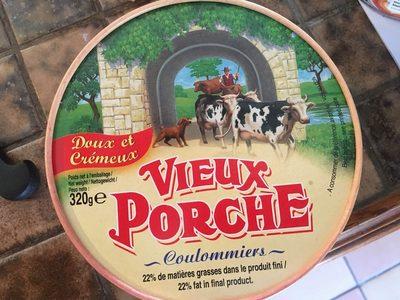 Coulommiers Vieux Porche 52% mat.gr - Ingrédients - fr