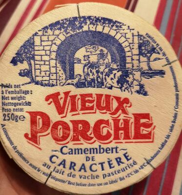 Camembert caractère Vieux Porche - Produit - fr