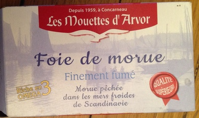 Foie de morue - finement fumé - Product - fr