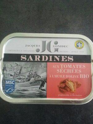 Sardines aux tomates séchées à l'huile d ' olive bio - Produit