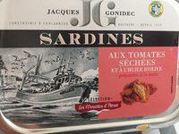 Sardines Tomates sechees - Ingrédients