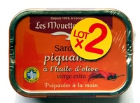 Sardines piquantes à l'huile d'olive vierge extra - Product