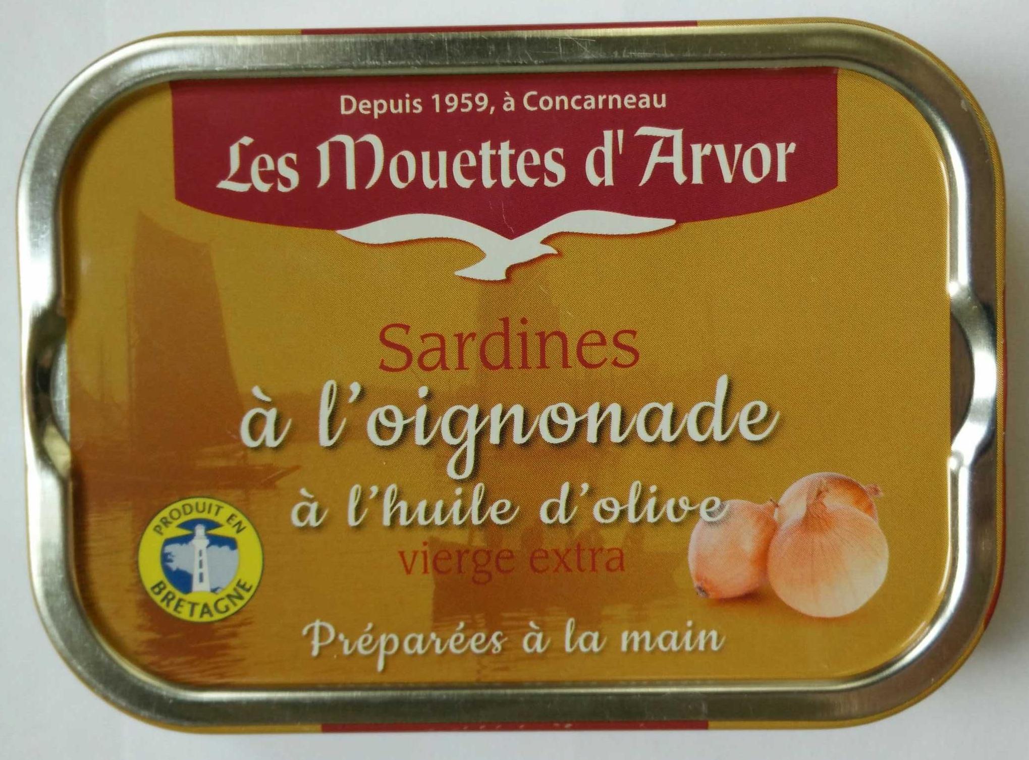 Sardines à l'oignonade à l'huile d'olive vierge extra - Product - fr