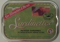 Sardinettes - Product