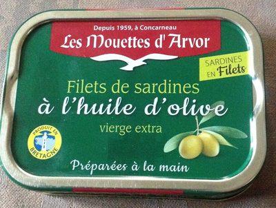 Filets de sardines huile d'olive - Produit
