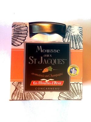 Mousse aux St Jacques aromatisée au Champagne - Product - fr