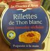 Rillettes de Thon Blanc aux tomates séchées - Product