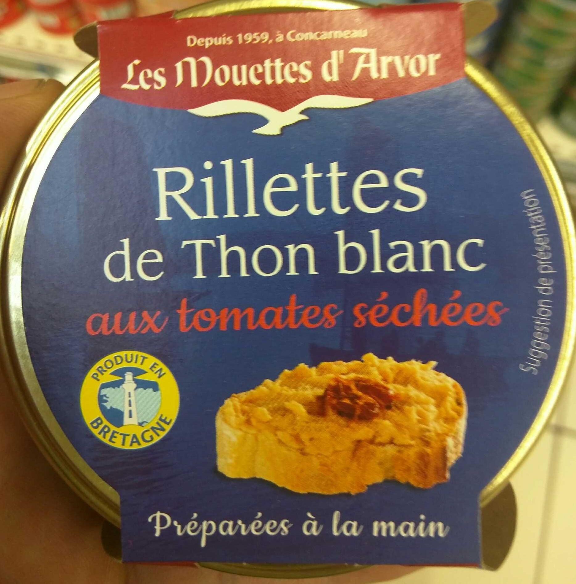Rillettes de Thon Blanc aux tomates séchées - Produit
