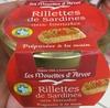 Rillettes de Sardines aux tomates - Product