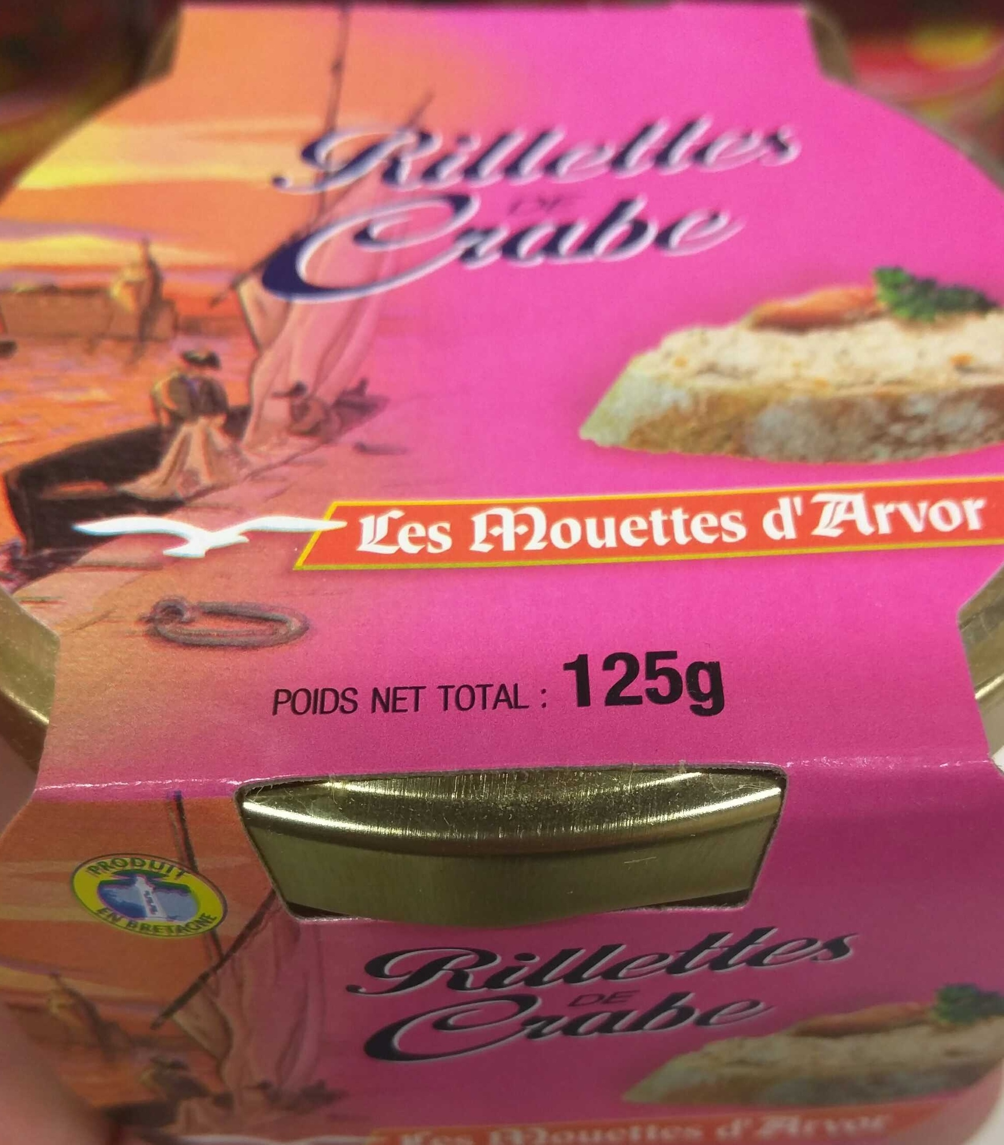 Rillettes de Crabe - Product