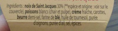 Rillettes de Noix de Saint-Jacques - Ingrediënten