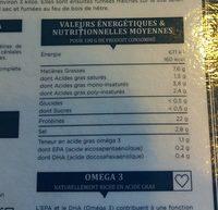 Truite fumée au bois de hêtre (6 tranches) - 150 g - Ingrédients - fr