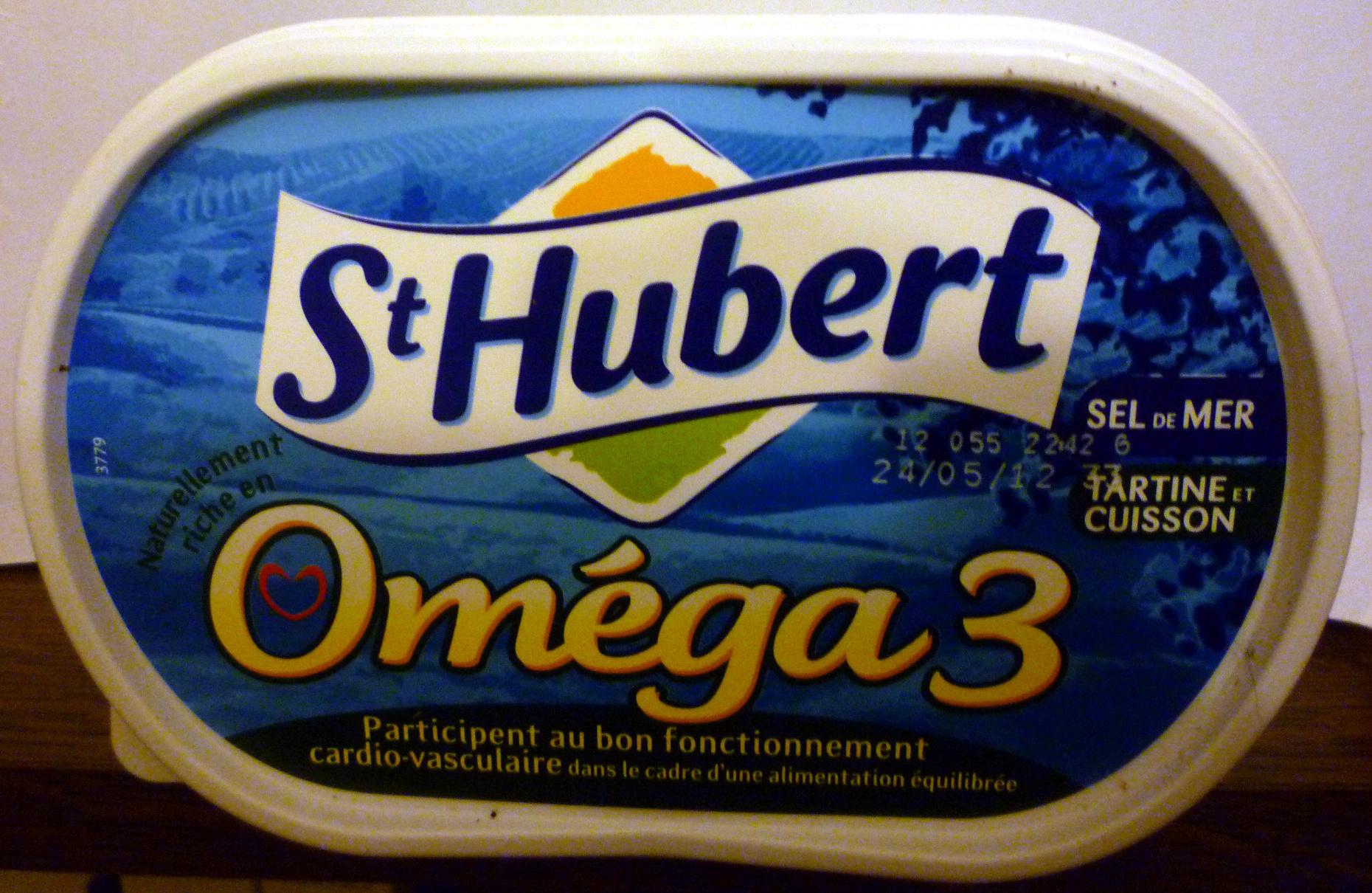 St Hubert Oméga 3 (Sel de Mer, Tartine et Cuisson), (54 % MG) - Produit - fr