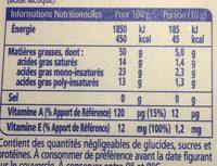 Oméga 3 Sans Sel - Informations nutritionnelles - fr