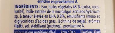 Omega 3 - Ingrédients - fr