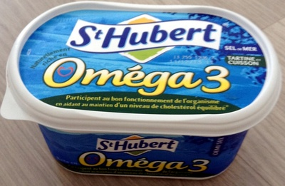 St Hubert Oméga 3 (Sel de Mer, Tartine et Cuisson), (54 % MG) - Product