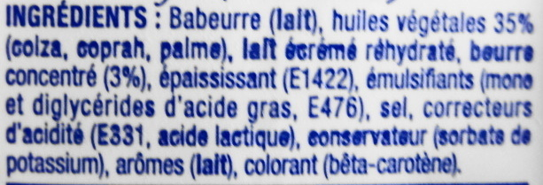 St Hubert 41 (38 % MG) - Ingredients