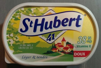 St Hubert 41 doux (38% m.g.) - Product