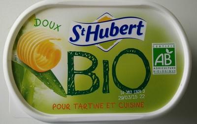 St Hubert Bio (Doux, Tartine et Cuisine), (58 % MG) - Product