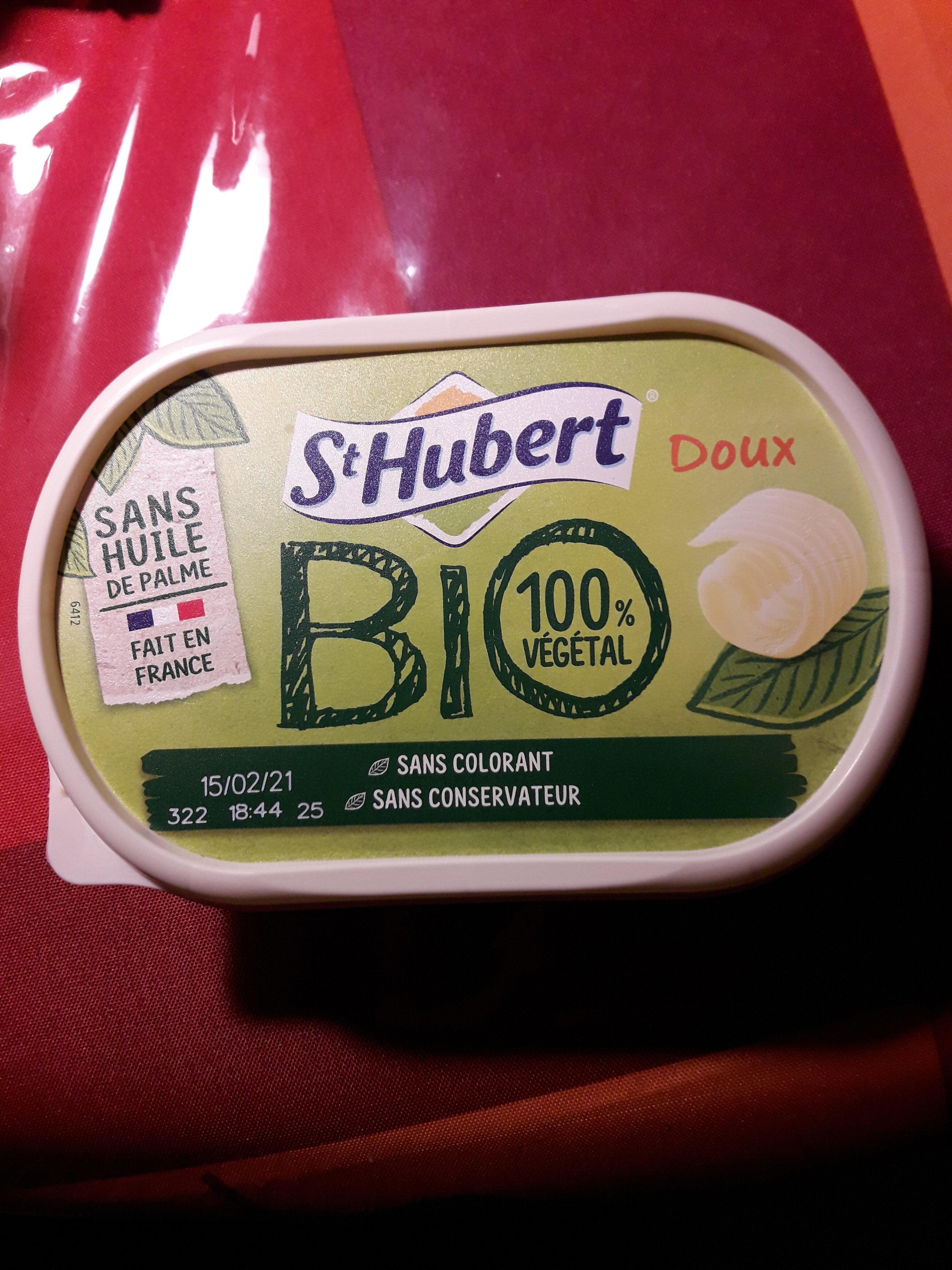 St Hubert bio doux pour tartine et cuisine - Product - fr