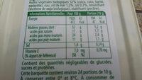 St hubert bio sel de mer - Informations nutritionnelles - fr