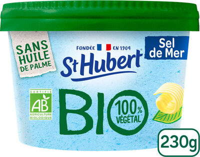 St Hubert Bio demi sel sans huile de palme - Prodotto - fr
