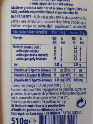 Omega 3 - Ingrédients