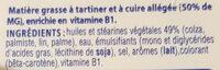 Beurre St Hubert oméga 3 - Ingrédients - fr