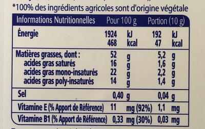 St Hubert Oméga 3 255g doux - Nutrition facts - fr