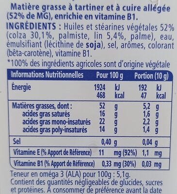 St Hubert oméga 3 - Ingredienti - fr